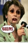 EXCLUSIVE: PELOSI IS A ZOMBIE, WANTS TO DRILL YOUR BRAINS!