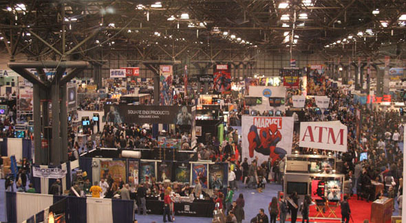 NY Comic-Con, Day 2: Convention Photo Gallery