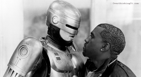 Kanye West has never seen RoboCop