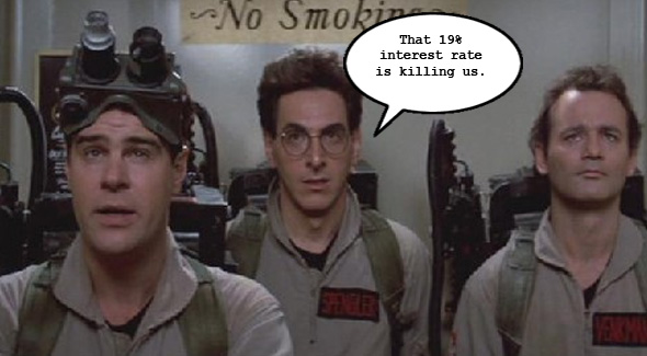 The Ghostbusters' Risky Business Plan