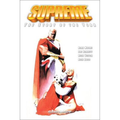 Supreme, by Alan Moore. Check it out if you haven't. I enjoyed it.