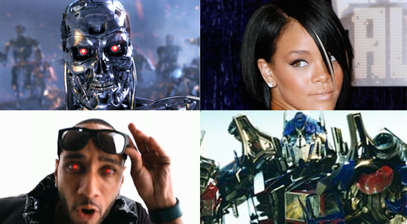 Chris Brown, Rihanna, Terminator, and Transformers: a Venn Diagram