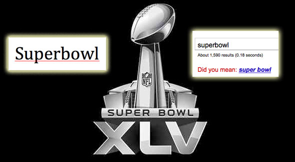 """Super Bowl"" vs ""Superbowl"": An American Spelling Crisis? Update: AVERTED"