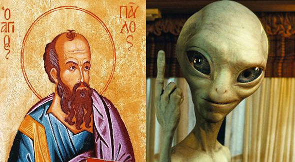 The Alien Paul vs the Apostle Paul