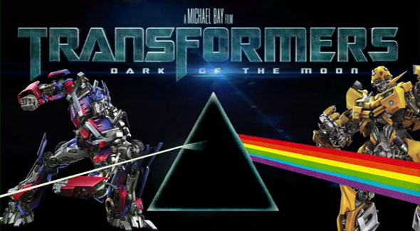 Dark Side of the Moon PLUS Transformers: Dark of the Moon