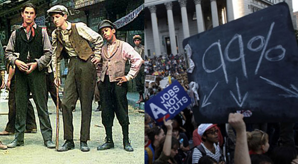 "#OccupyBroadway: ""Newsies"" and Occupy Wall Street"