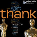 Analyzing the 2012 Oscar Acceptance Speeches