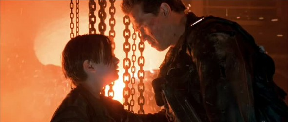 I know now why you cry - Terminator 2