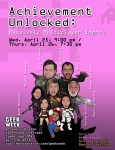 Come see Achievement Unlocked this week at ImprovBoston.
