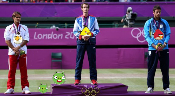 Angry Birds Power-Ups Flap in the Face of the Olympic Spirit