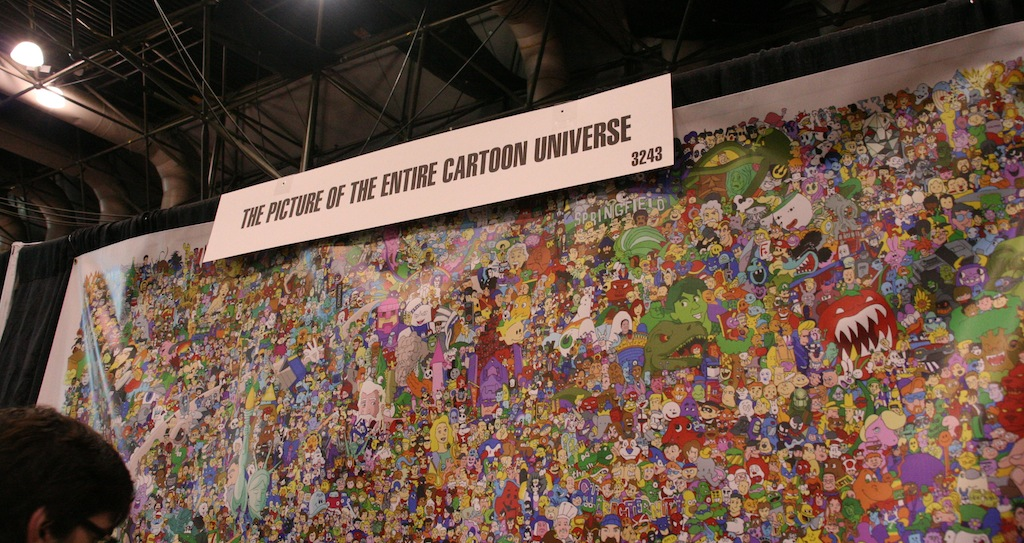 NY Comic-Con 2012: Picture of the Entire Cartoon Universe