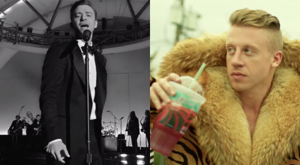 "Musical Talmud:  ""Suit and Tie"" vs. ""Thrift Shop"""